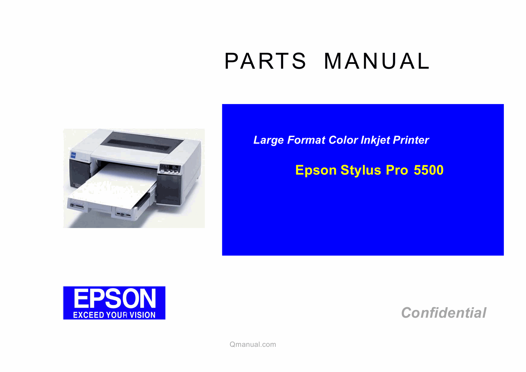 EPSON StylusPro 5500 Parts Manual-1